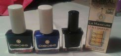 Nail polishes from my mom