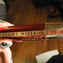 My favorite mascara: Volume Million Lashes by L'Oréal