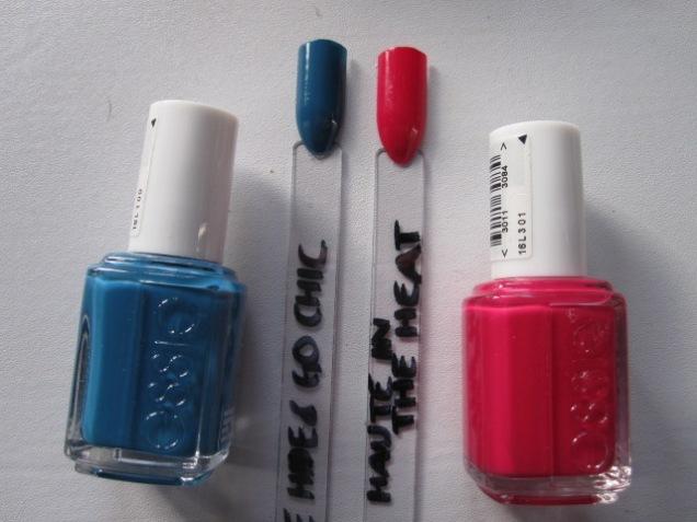 Oops - nail polish on sale...