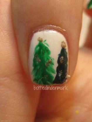 alm juletræ