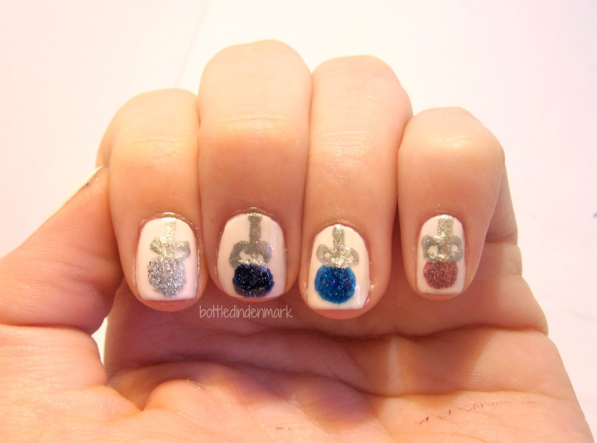 christmas ornament nail art - photo #33