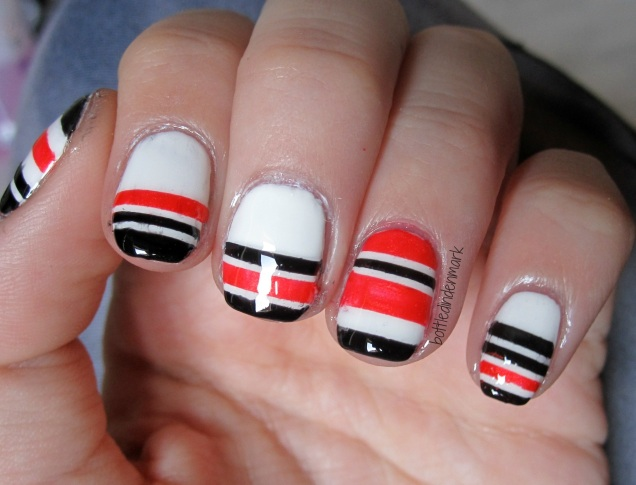 Black and orange stripes 1