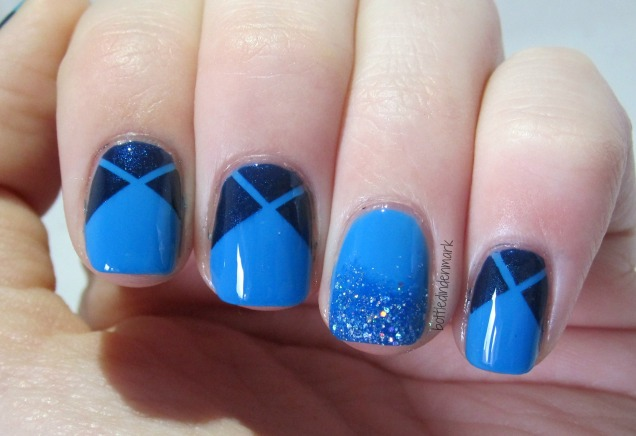 Blue striping tape 1
