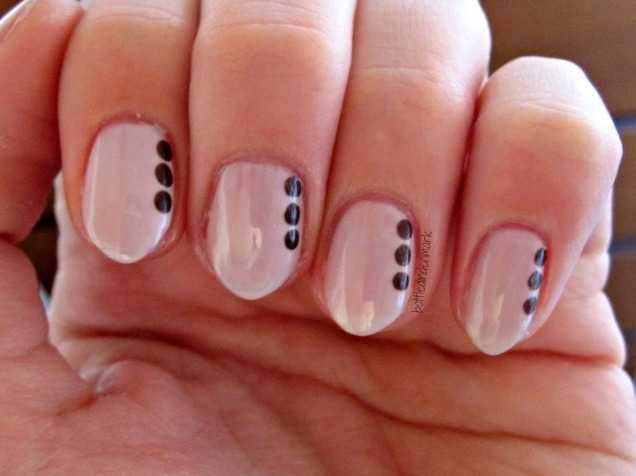 Nude with dots