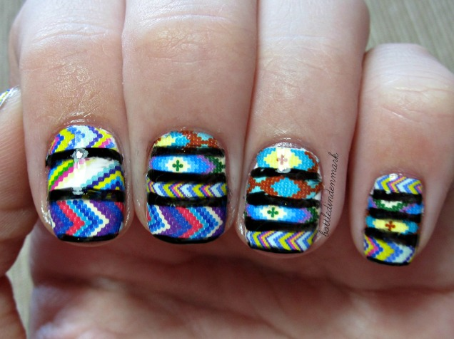 Tribal nail decals 1