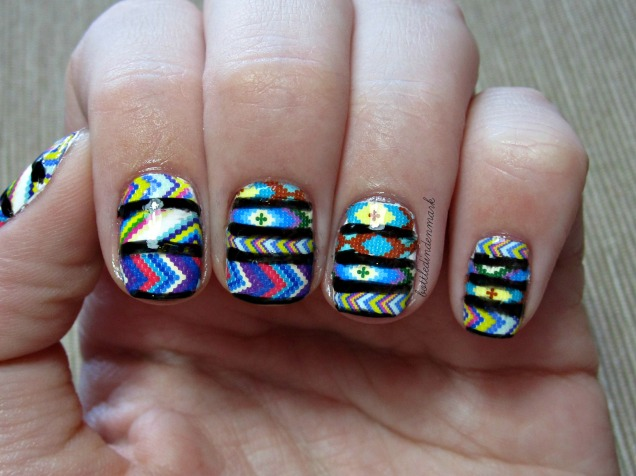 Tribal nail decals 2