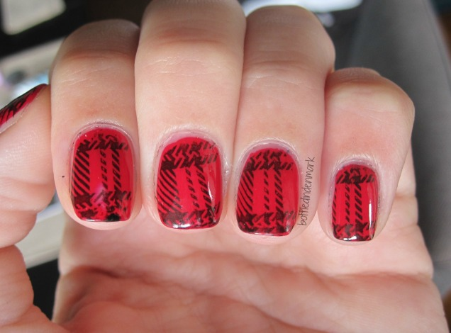 red and black plaid 1