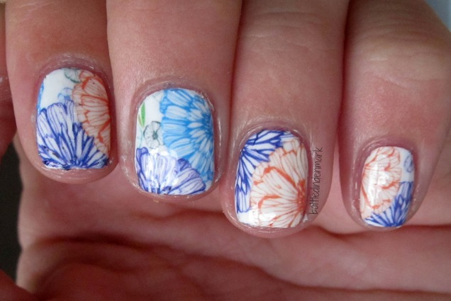 Flower decals 1