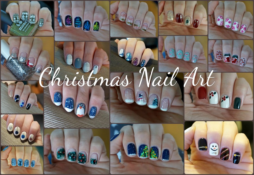 christmas-nail-art-collage