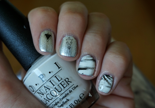 Silver and marble 1