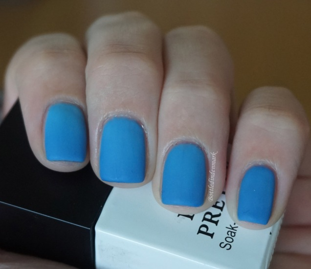 Blue thermal gel dark