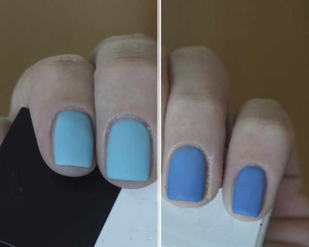 Blue thermal gel mix