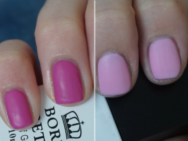 Pink thermal gel mix