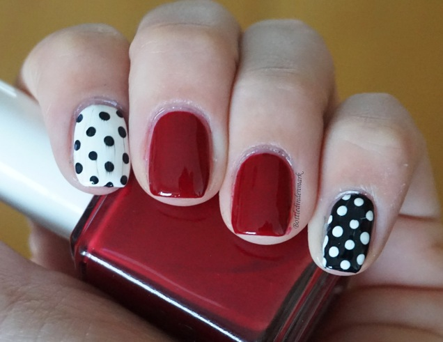 Red and Polka dots 1
